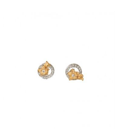 CARRERA Y CARRERA Emperatriz Bouquet medium earrings