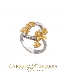 CARRERA Y CARRERA Emperatriz Bouquet medium Ring