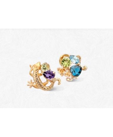 CarrerayCarrera Gecko mini earrings