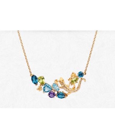 CarrerayCarrera Gecko necklace
