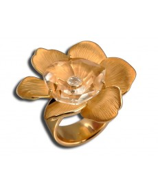 CARRERA Y CARRERA GARDENIA MEDIUM RING
